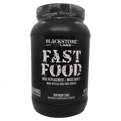 Blackstone Labs Fast Food 56 Servings Meal Replacement Powders Blackstone Labs Birthday Cake  (1847324442667)