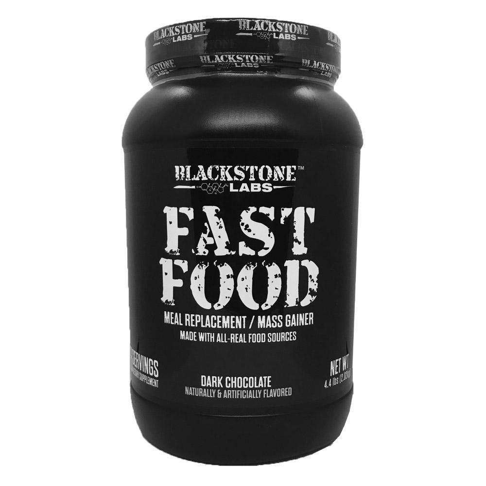 Blackstone Labs Fast Food 56 Servings Meal Replacement Powders Blackstone Labs Dark Chocolate  (1847324442667)