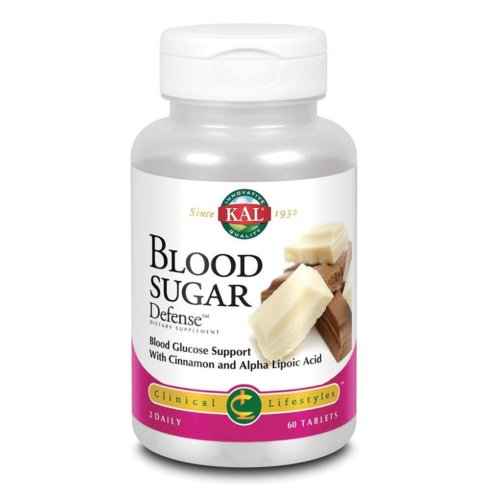 Kal Blood Sugar Defense 60 Tablets | Blood Glucose Support Specialty Health Products Kal  (1778927435819)