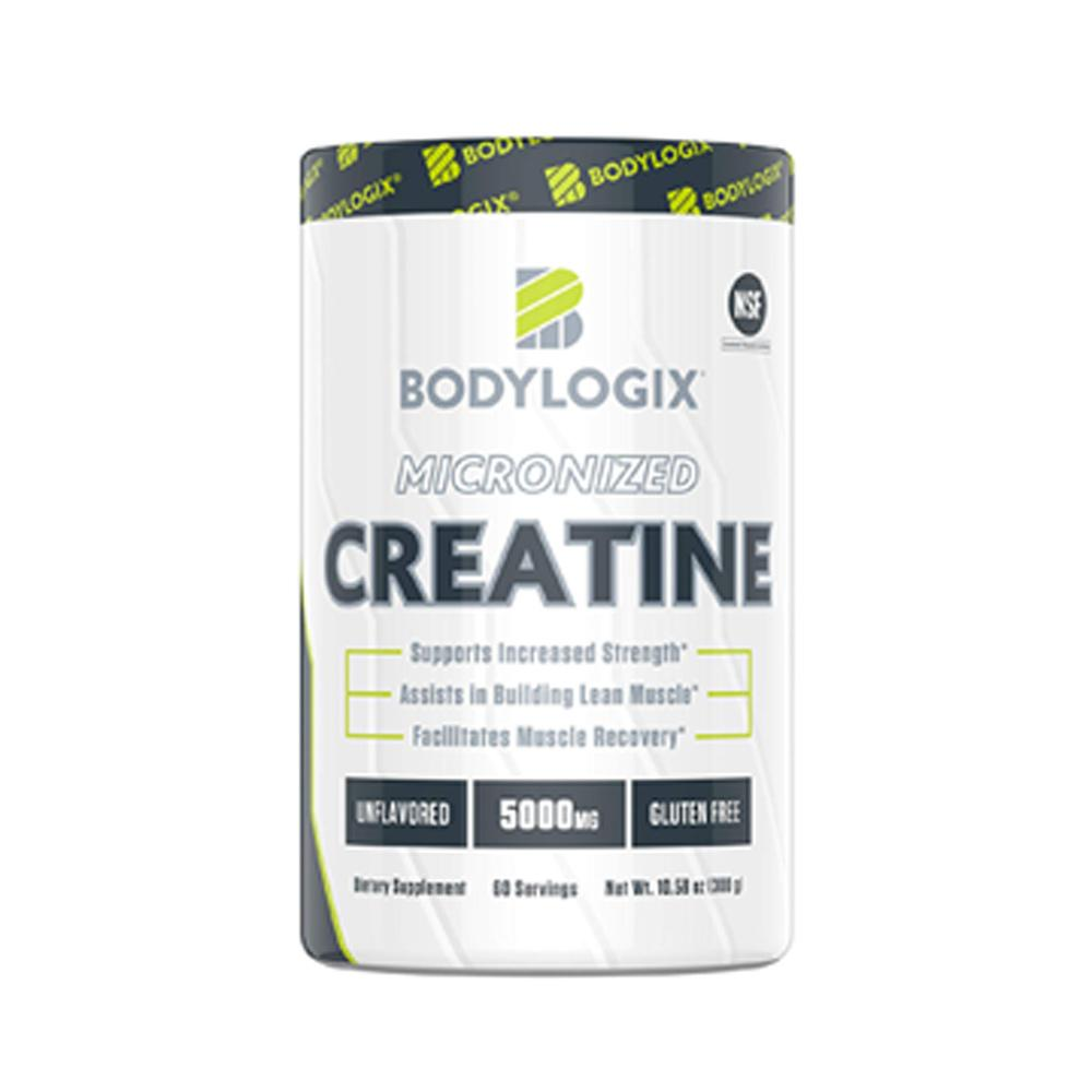 BodyLogix Micronized Creatine 60 Servings Creatine Bodylogix  (1735275020331)