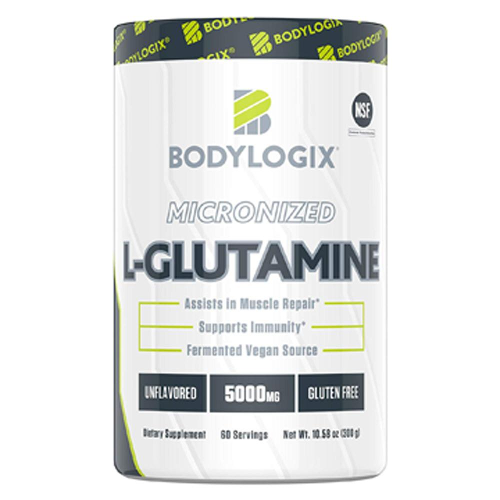 BodyLogix Micronized L-Glutamine 60 Servings Amino Acids Bodylogix  (1735275053099)