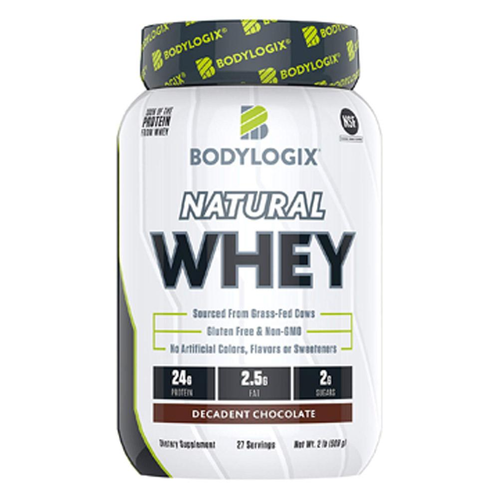 Bodylogix Natural Whey 2lb Protein Powders Bodylogix Decadent Chocolate  (1735267876907)