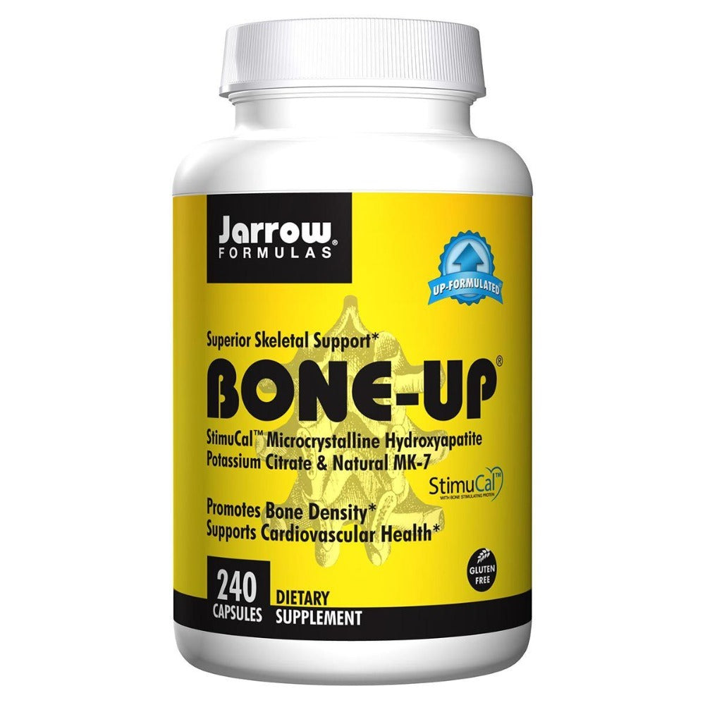 Jarrow Formulas Bone-Up 240 Caps Minerals Jarrow Formulas  (1058038579243)