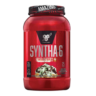 BSN Syntha-6 Cold Stone Creamery 2.59lb Protein Powders BSN Mint Mint Chocolate Chocolate Chip  (1705271623723)