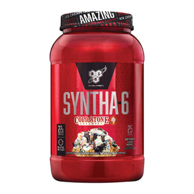 BSN Syntha-6 Cold Stone Creamery 2.59lb Protein Powders BSN Birthday Cake Remix  (1705271623723)