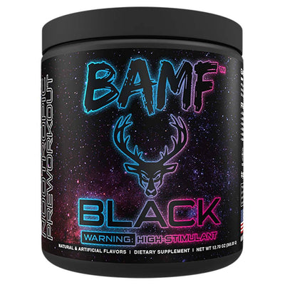 Bucked Up BAMF Black 30/sv Pre-Workouts Bucked Up Welcome To Miami  (4566960439361)
