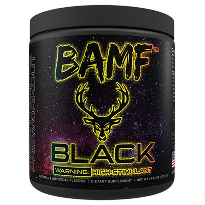 Bucked Up BAMF Black 30/sv Pre-Workouts Bucked Up Candy Shop