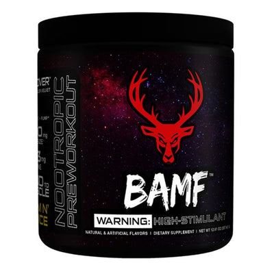 Bucked Up BAMF 30 Servings | Pre-Workout Formerly LIT AF Sports Performance Recovery Bucked Up Gym N Juice  (1825141948459)