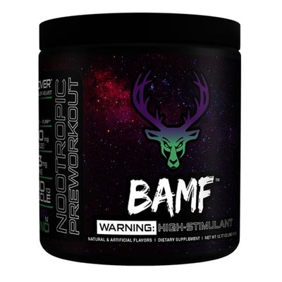 Bucked Up BAMF 30 Servings | Pre-Workout Formerly LIT AF Sports Performance Recovery Bucked Up Pump N Grind  (1825141948459)