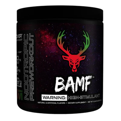 Bucked Up BAMF 30 Servings | Pre-Workout Formerly LIT AF Sports Performance Recovery Bucked Up Straw-Kiwi  (1825141948459)