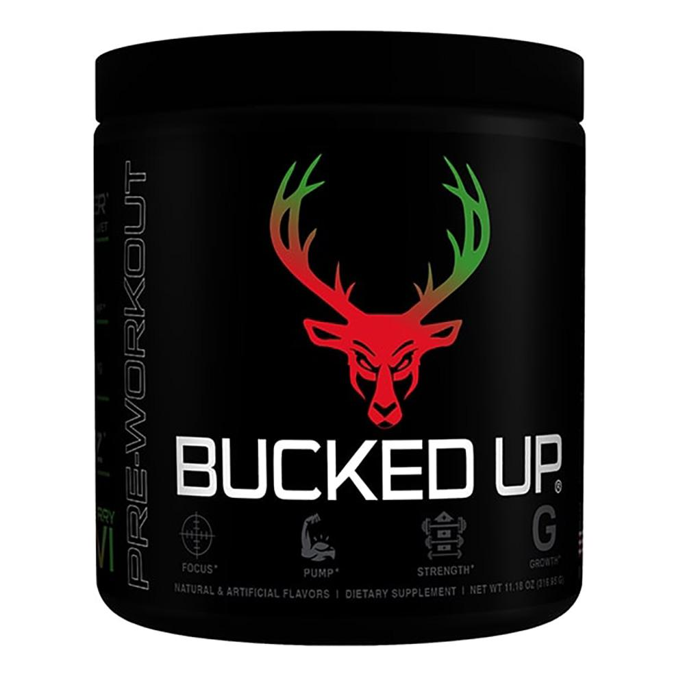 Bucked Up Bucked Up 30 Servings | Pre-Workout Sports Performance Recovery Bucked Up Strawberry-Kiwi  (1825115799595)
