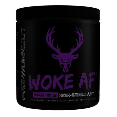 Bucked Up Woke AF 30 Servings | High Stimulant Pre-Workout Sports Performance Recovery Bucked Up Grape  (1825141882923)
