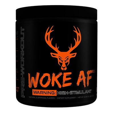 Bucked Up Woke AF 30 Servings | High Stimulant Pre-Workout Sports Performance Recovery Bucked Up Killa OJ  (1825141882923)