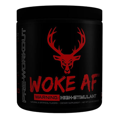 Bucked Up Woke AF 30 Servings | High Stimulant Pre-Workout Sports Performance Recovery Bucked Up Blood Raz  (1825141882923)