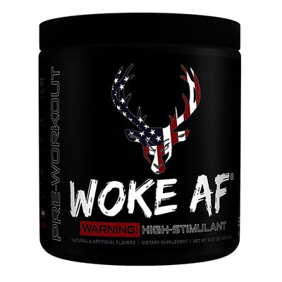 Bucked Up Woke AF 30 Servings | High Stimulant Pre-Workout Sports Performance Recovery Bucked Up Rocket Pop  (1825141882923)