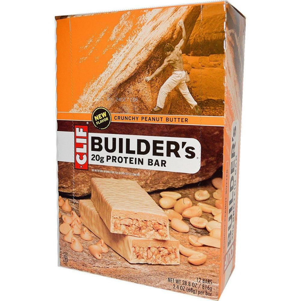 Clif Bar Clif Builder's Bar 12/Box Protein Clif Bar  (1058023931947)