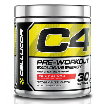 Cellucor C4 30 Servings Sports Performance Recovery Cellucor Fruit Punch  (4380860678209)