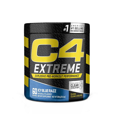 Cellucor C4 Extreme 60 Servings Pre-Workouts Cellucor Icy Blue Razz  (4344214585409)