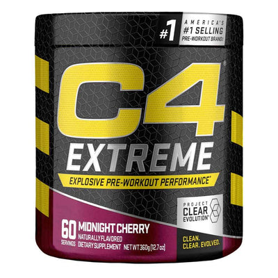 Cellucor C4 Extreme 60 Servings Pre-Workouts Cellucor Midnight Cherry  (4344214585409)