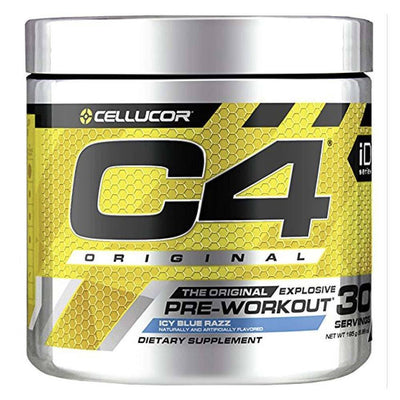 Cellucor C4 30 Servings Sports Performance Recovery Cellucor Icy Blue Razz  (4380860678209)