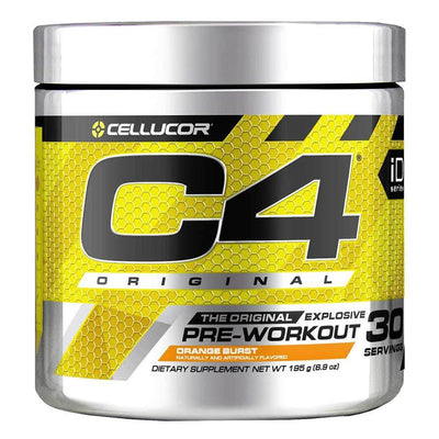 Cellucor C4 30 Servings Sports Performance Recovery Cellucor Orange Burst  (4380860678209)