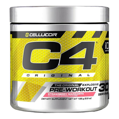 Cellucor C4 30 Servings Sports Performance Recovery Cellucor Strawberry Margarita  (4380860678209)