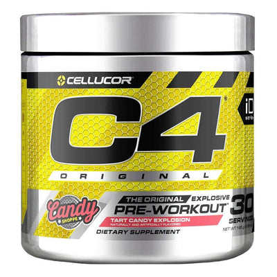 Cellucor C4 30 Servings Sports Performance Recovery Cellucor Tart Candy Explosion  (4380860678209)