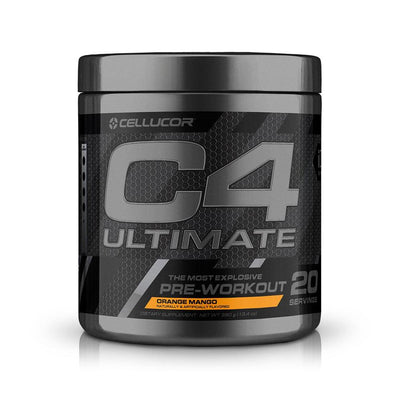 Cellucor C4 Ultimate 30 Servings | Intense Hard Hitting Pre-Workout Pre-Workouts Cellucor Orange Mango  (1805878951979)