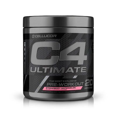 Cellucor C4 Ultimate 30 Servings | Intense Hard Hitting Pre-Workout Pre-Workouts Cellucor Strawberry Watermelon  (1805878951979)
