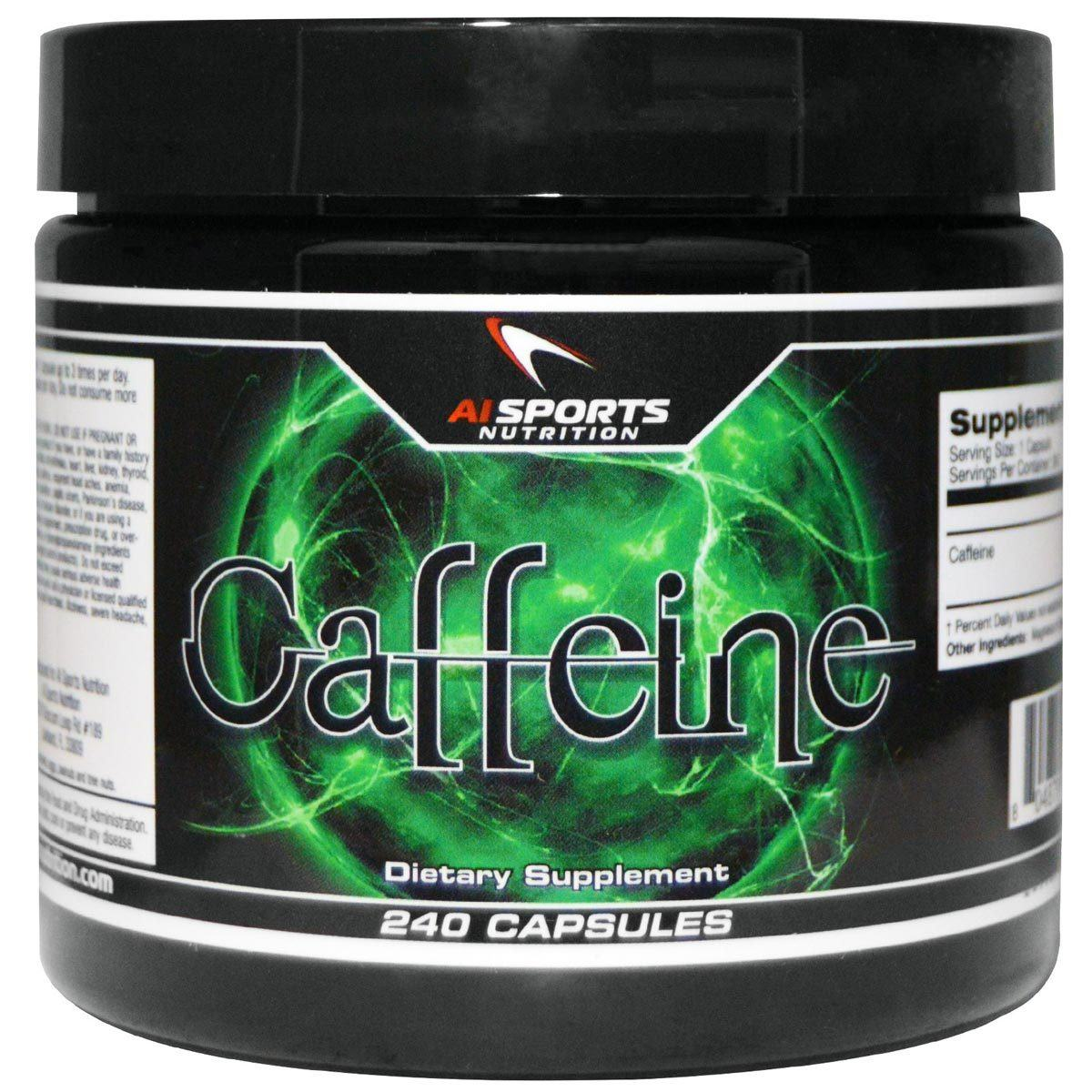 AI Sports Nutrition Caffeine 240 Caps Other Supplements AI Sports Nutrition  (1058778284075)