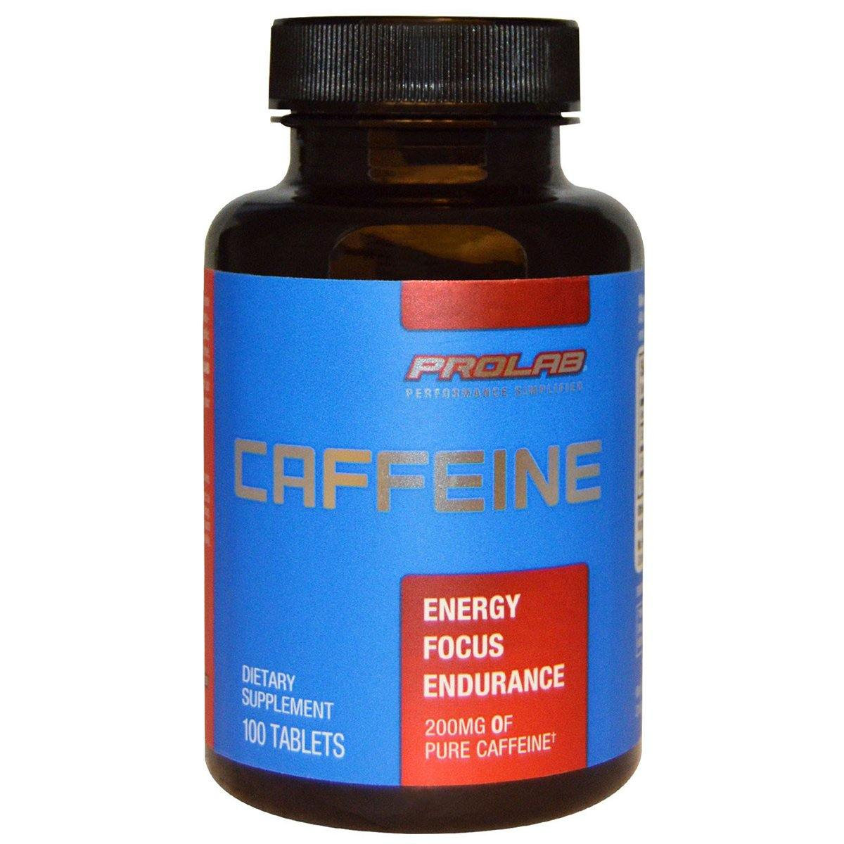 Prolab Caffeine 200mg 100 Tabs Diet/Energy Prolab  (1058209005611)