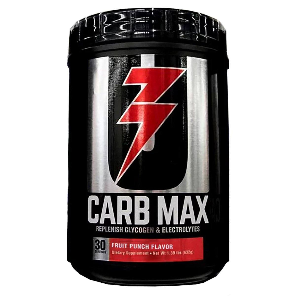 Carb Max 30 Servings Sports Performance & - Recovery Universal Fruit Punch  (1451854823467)