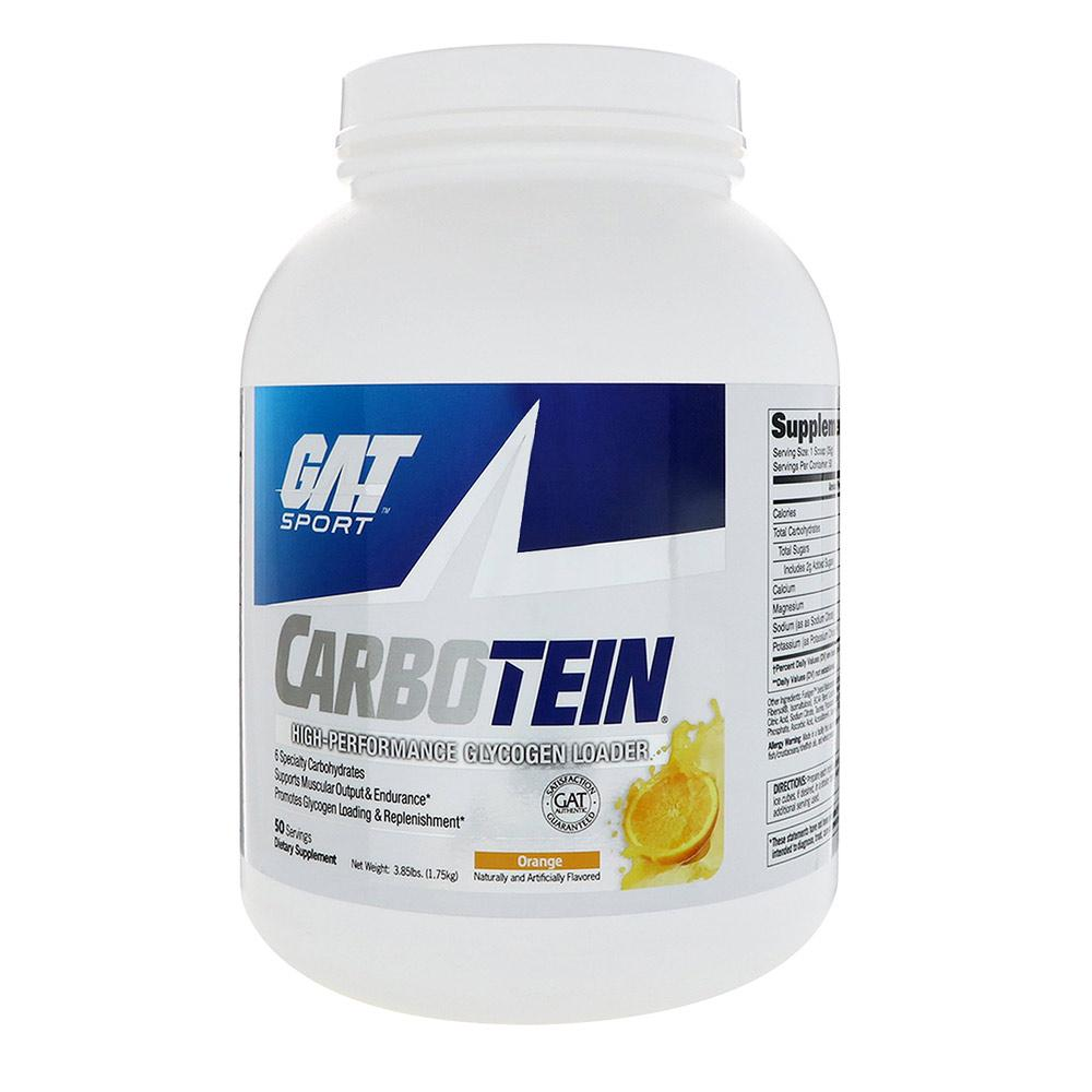 GAT Carbotein 50 Servings | Glycogen Loader Protein Powders GAT Orange  (1789168418859)