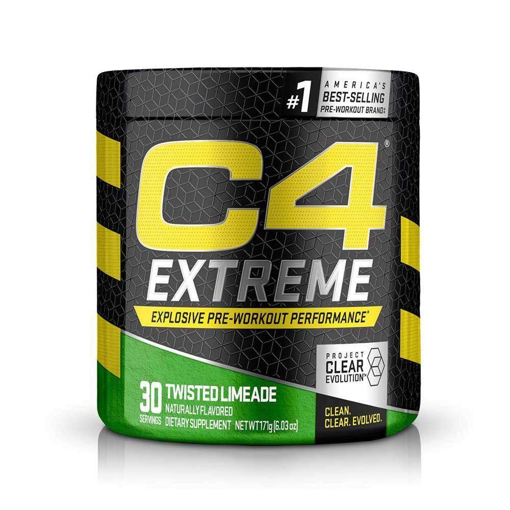 C4 Extreme 30 Servings Pre-Workouts Cellucor Natural Zero Cherry Limeade  (4344212848705)