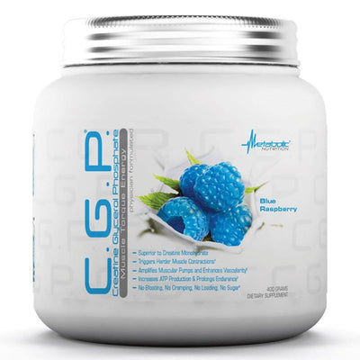 Metabolic Nutrition C.G.P. 400 Grams Creatine Metabolic Nutrition Blue Raspberry  (1058822029355)