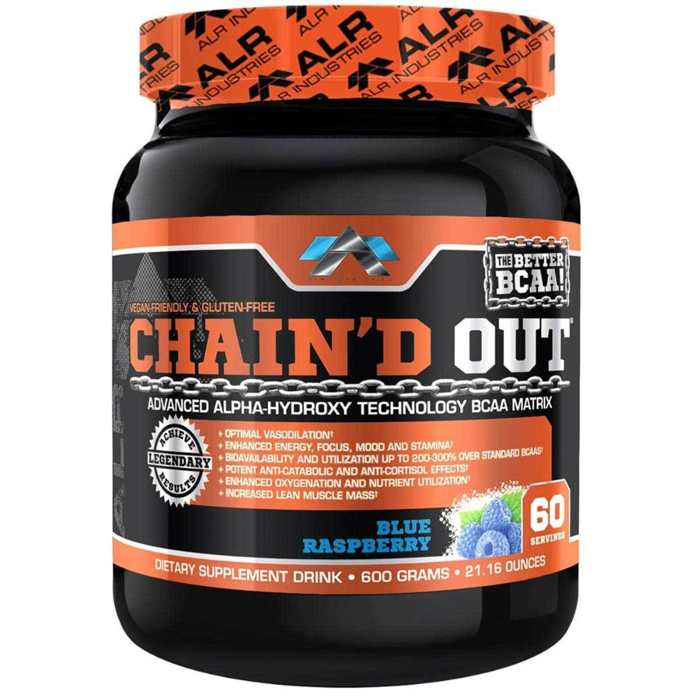 ALRI (ALR Industries) Chain'd Out 60 Servings Amino Acids ALRI (ALR Industries) Blue Raspberry  (1058642296875)