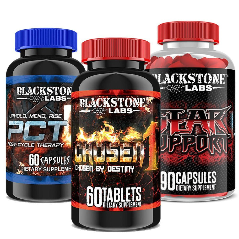 Blackstone Labs Chosen1 Stack Prohormones, Andro & Support Blackstone Labs  (1161469001771)