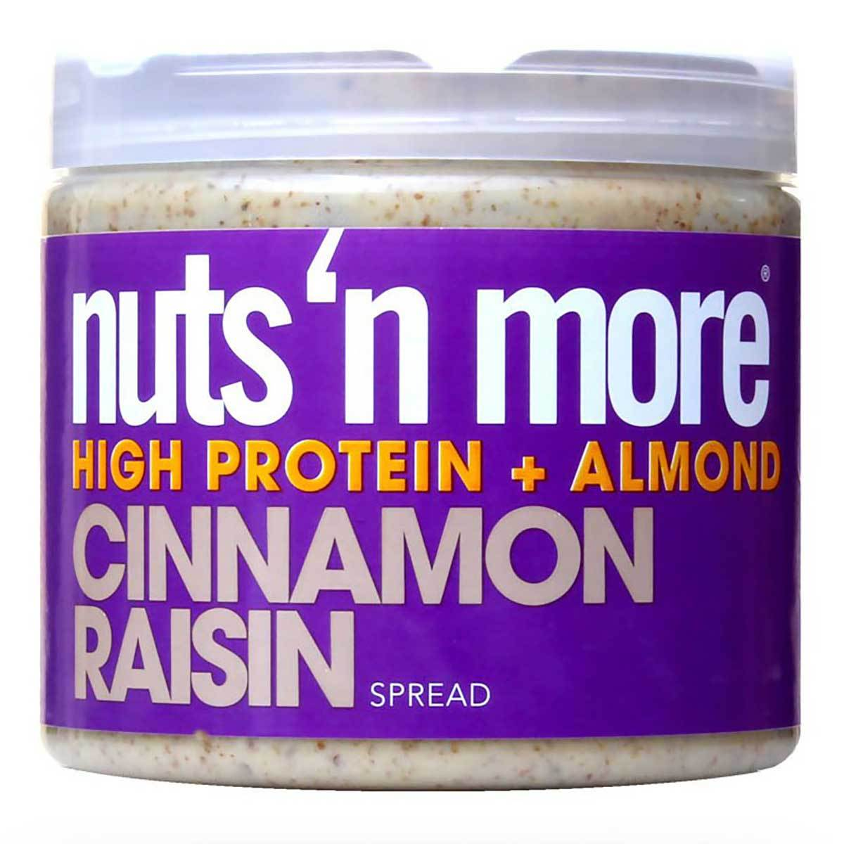 Nuts 'N More Cinnamon Raisin Almond Butter 16 Oz Foods & Snacks Nuts 'N More  (1059036954667)
