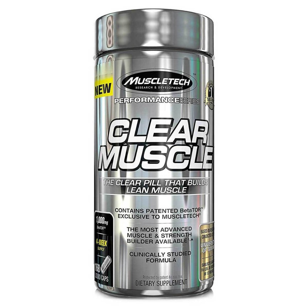 MuscleTech Clear Muscle 168 Caps MuscleTech  (1059059892267)