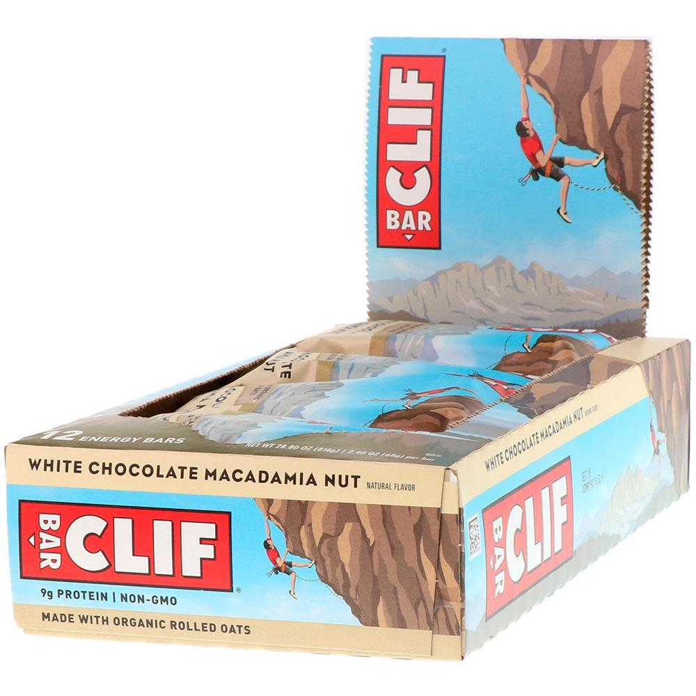 Clif Bar 12/Box Bars Clif Bar White Chocolate Macadamia Nut  (1864725889067)