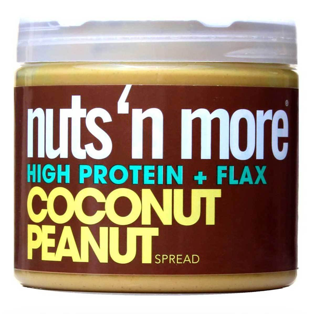 Nuts 'N More Coconut Peanut Butter 16 Oz Foods & Snacks Nuts 'N More  (1059200204843)