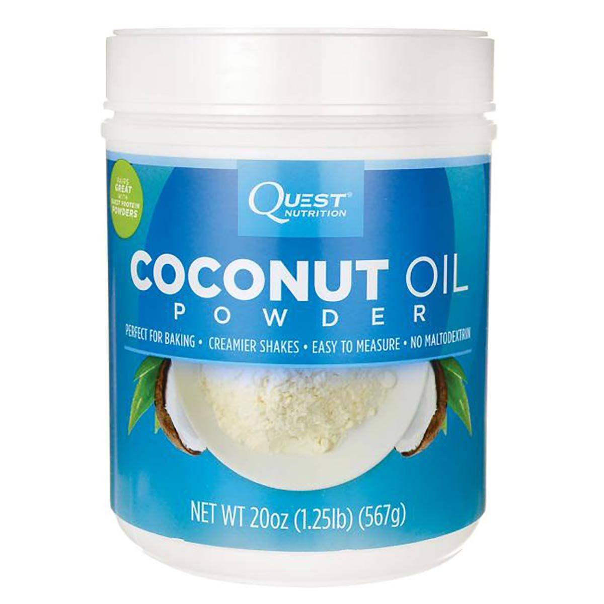 Quest Nutrition Coconut Oil Powder 20oz Omega Fatty Acids / EFAs Quest Nutrition  (1059309846571)