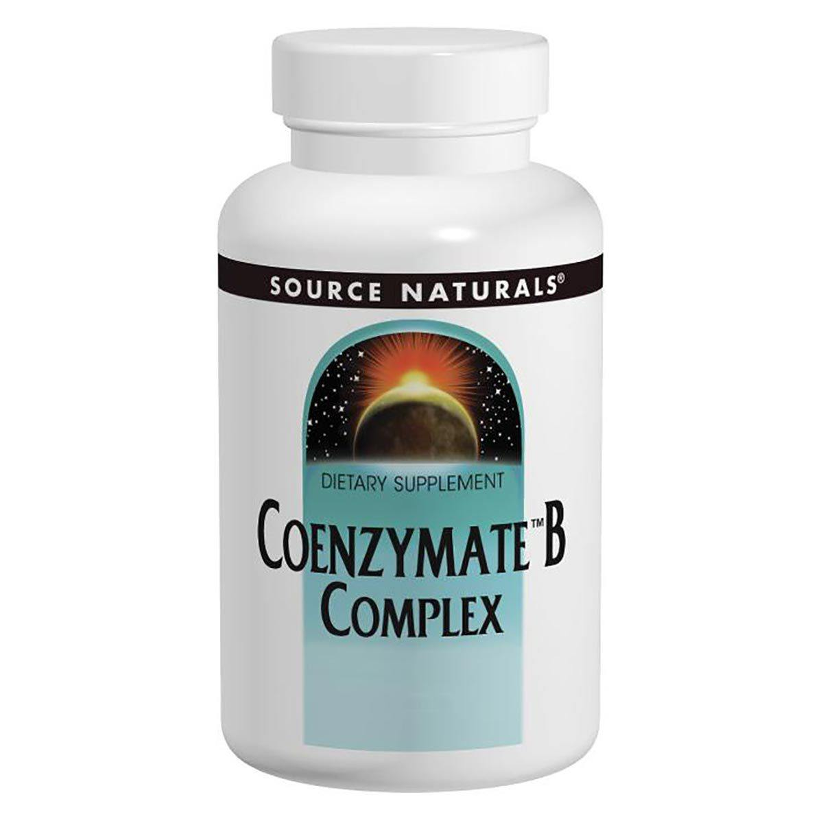 Source Naturals Coenzymate B-Complex Sublingual Peppermint 60 Tablets Vitamins Source Naturals  (1057878212651)