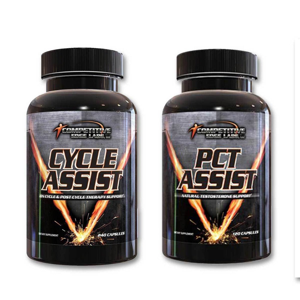 Competitive Edge Labs Cycle Assist / PCT Assist Stack Prohormones, Andro & Support Competitive Edge Labs  (1161560588331)