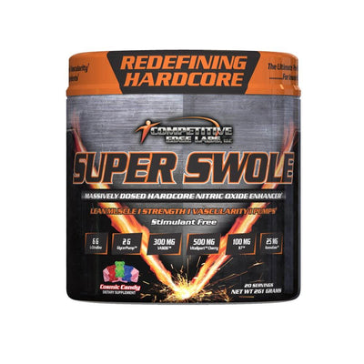 Competitive Edge Labs Super Swole 20 Servings Nitric Oxide Competitive Edge Labs Cosmic Candy  (4364490702913)