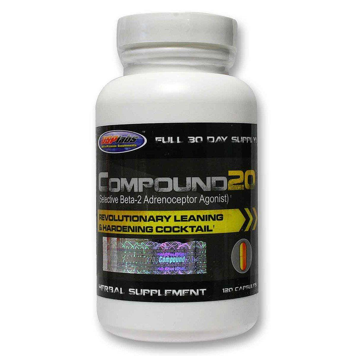 USPLABS Compound 20 132 Caps Testosterone Boosters USPLABS  (1058713763883)