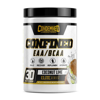 Condemned Labz Confined EAA/BCAA 30/sv Amino Acids Condemned Labratoriez Coconut Lime  (4523040636993)