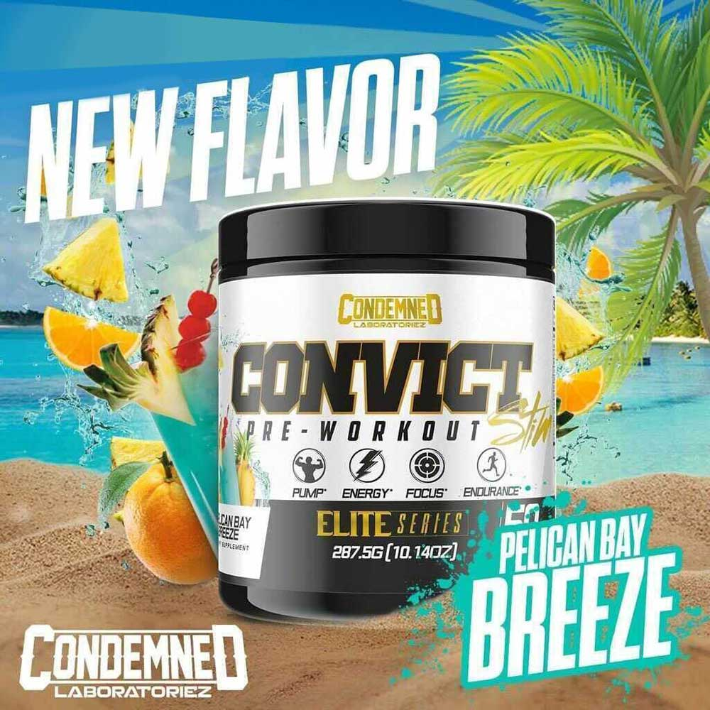 Convict Pre Workout Supplement Condemned Labz