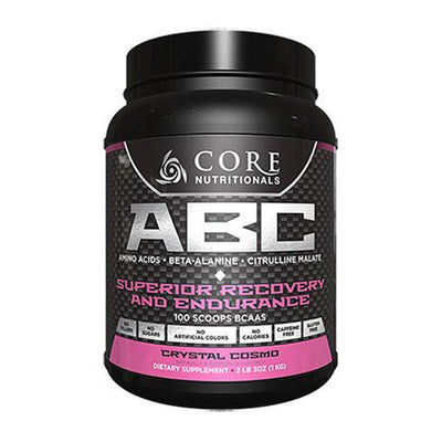 Core Nutritionals ABC 50 Servings Amino Acids Core Nutritionals Crystal Cosmo  (4405703376961)