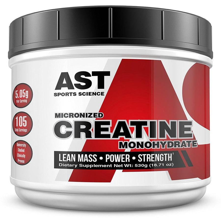 Ast Sports Science Supplements Vitamins Creatine Monohydrate 1000gr 525 Grams